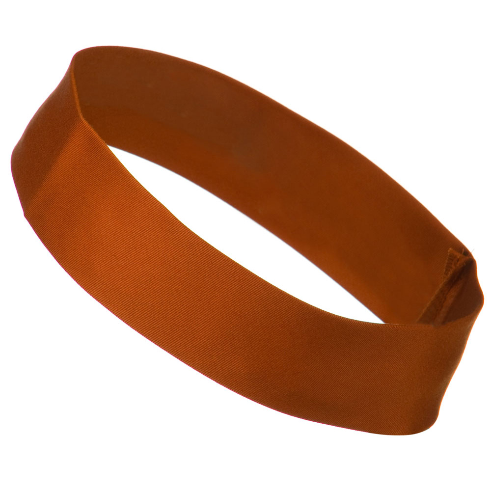 2 inch Removable Chino Twill Hat Band - Burnt Orange - Hats and Caps Online Shop - Hip Head Gear
