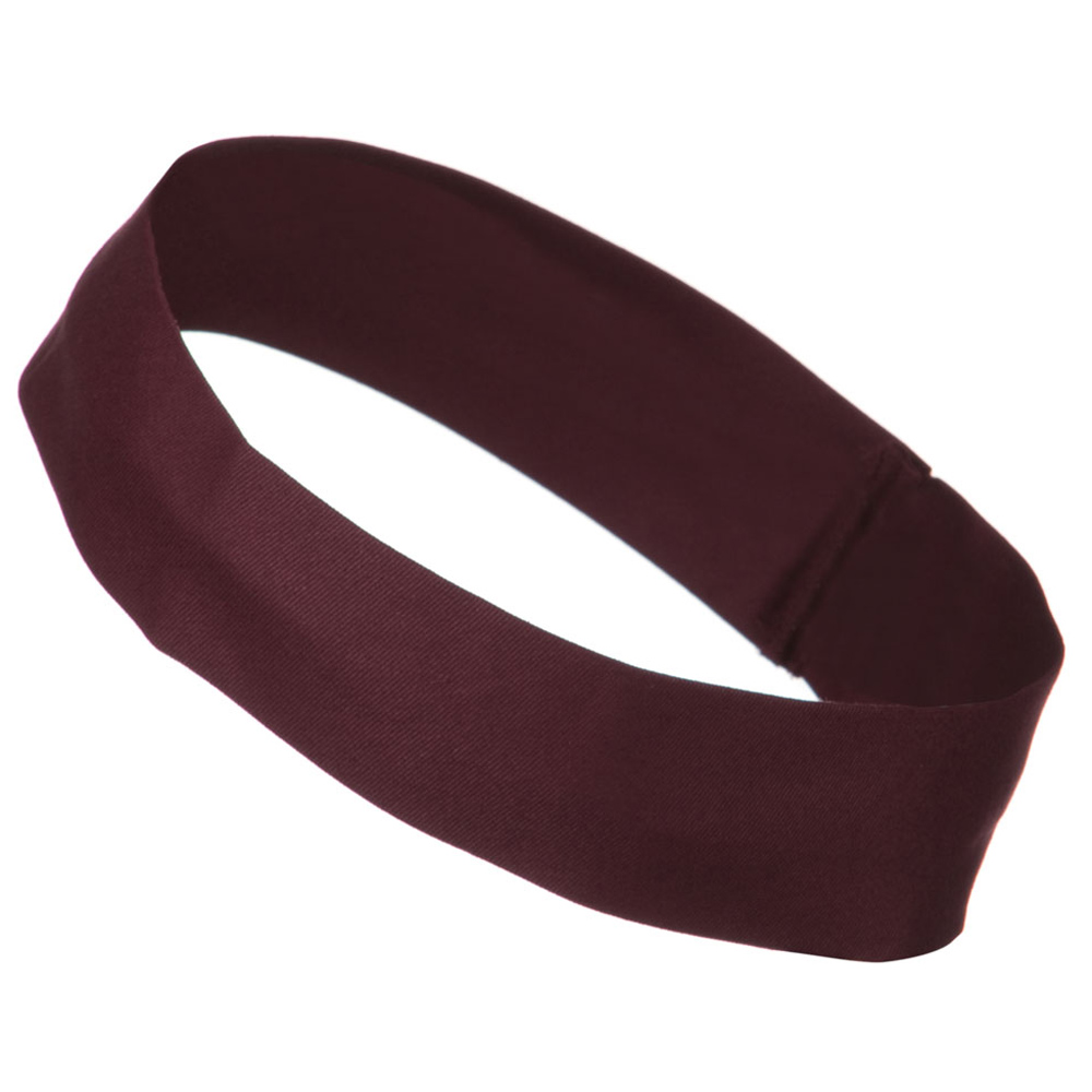 2 inch Removable Chino Twill Hat Band - Maroon - Hats and Caps Online Shop - Hip Head Gear