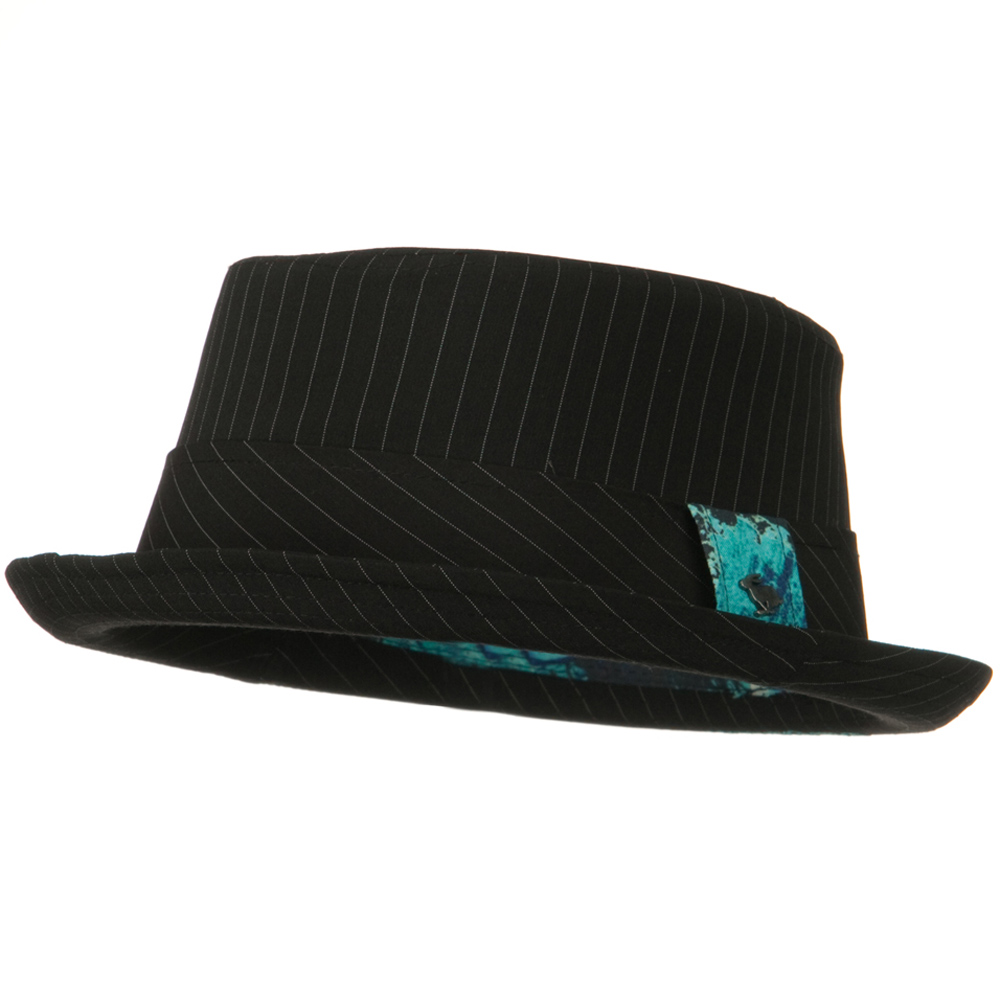 Rizala Pork Pie Hat - Black - Hats and Caps Online Shop - Hip Head Gear
