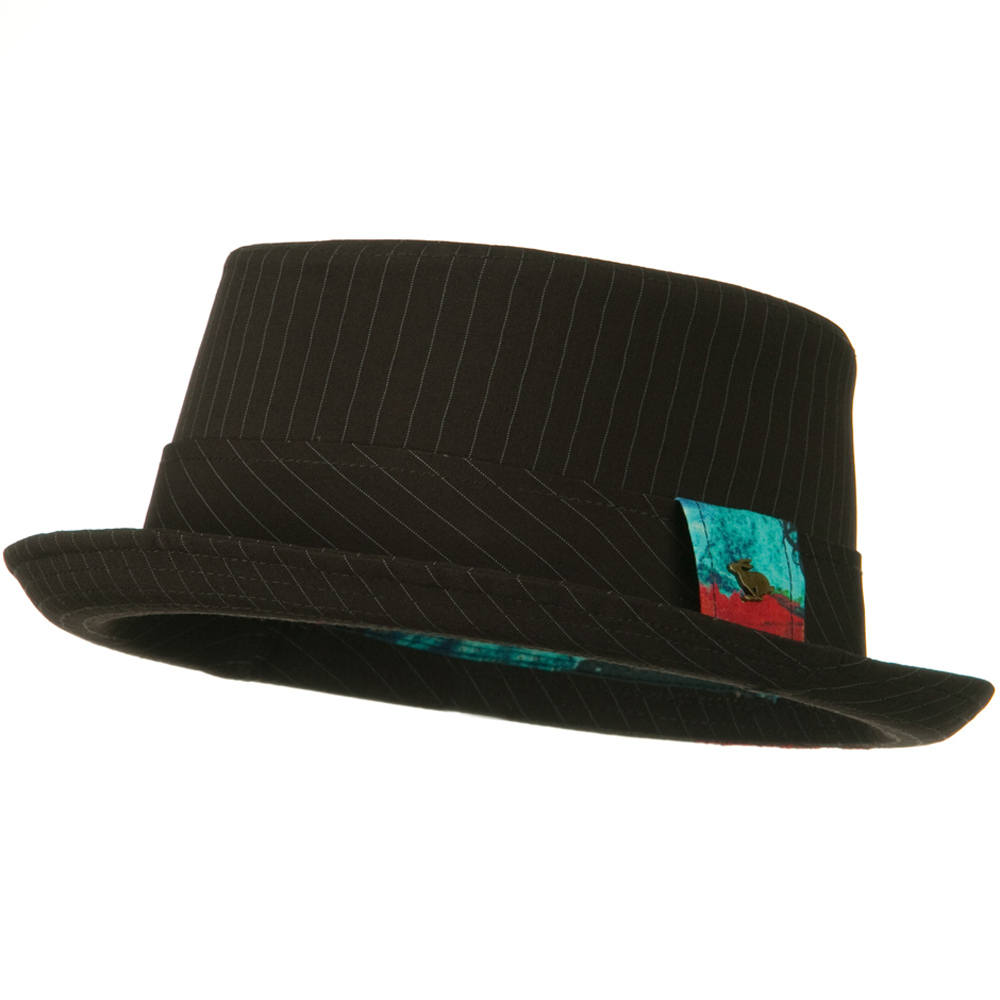 Rizala Pork Pie Hat - Brown - Hats and Caps Online Shop - Hip Head Gear