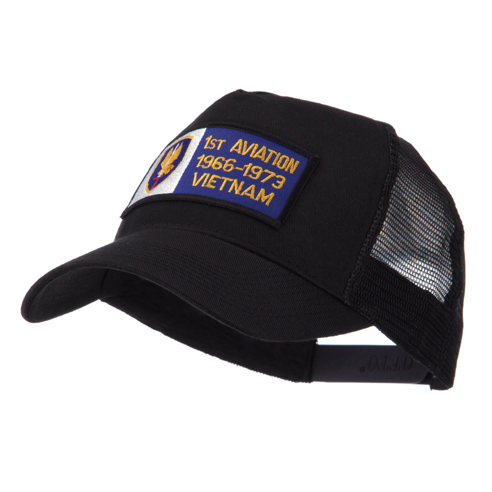 Army Rectangle Military Patched Mesh Cap - Aviation - Hats and Caps Online Shop - Hip Head Gear