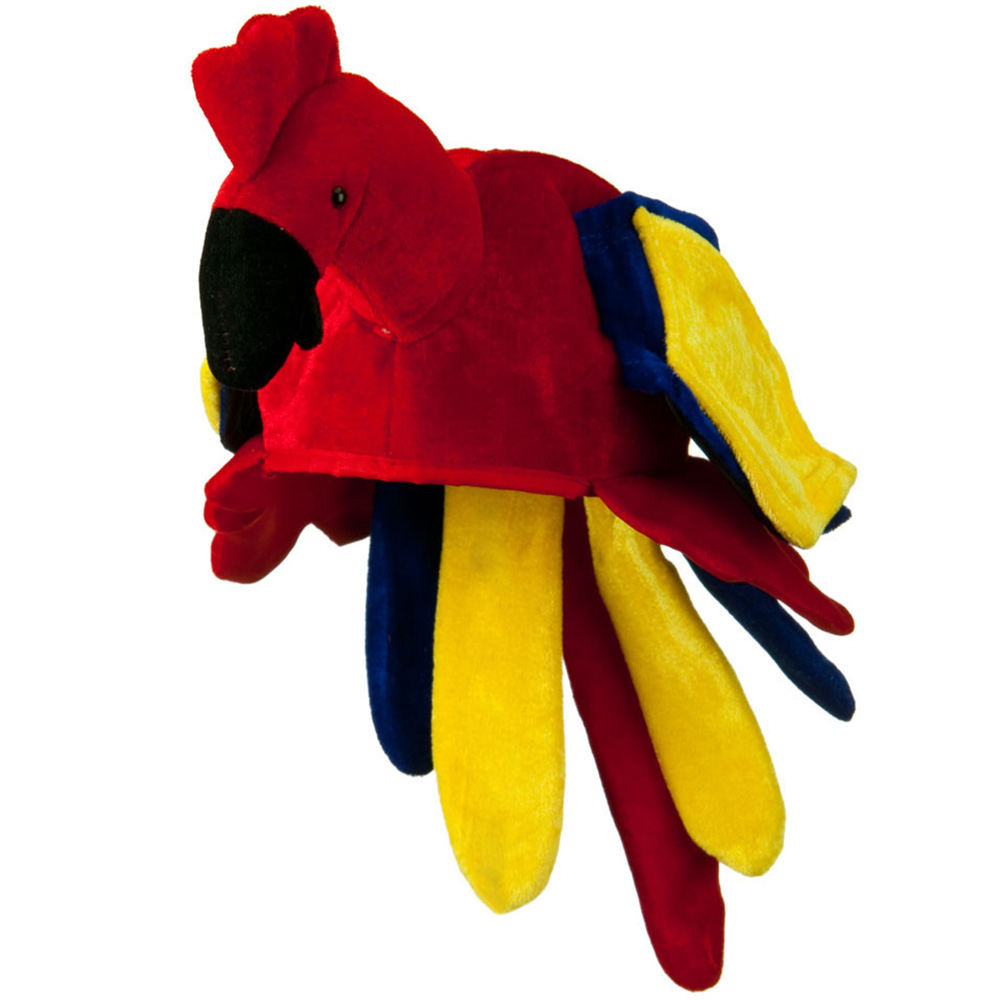Assorted Velvet Birds Hat - Parrot - Hats and Caps Online Shop - Hip Head Gear