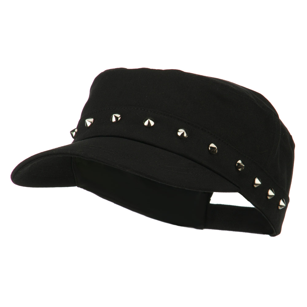 Spike Jeep Style Adjustable Cap - Black - Hats and Caps Online Shop - Hip Head Gear