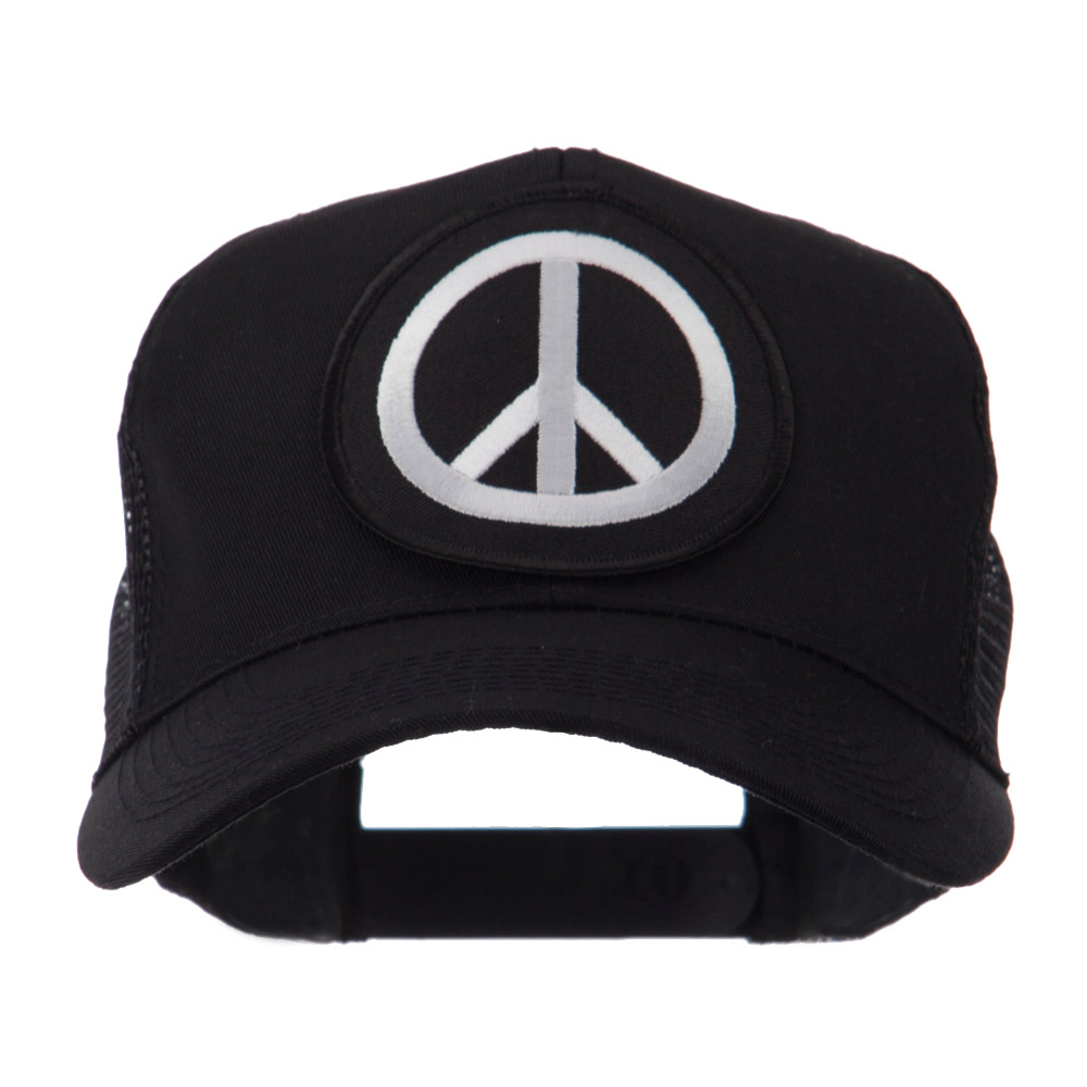 Skull and Choppers Embroidered Military Patched Mesh Cap - Peace - Hats and Caps Online Shop - Hip Head Gear