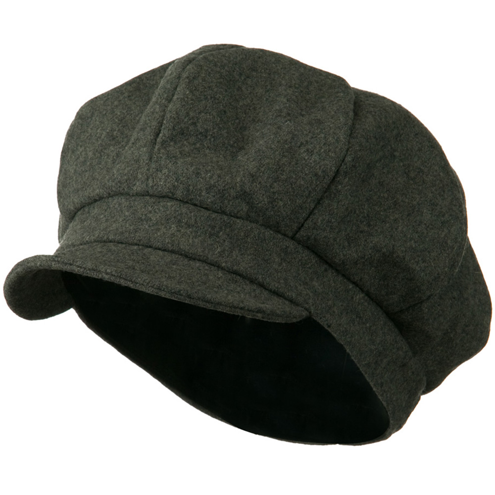 Men's Soft Brim Newsboy Cap with An Adjustable Size Buckle Closure - Grey - Hats and Caps Online Shop - Hip Head Gear