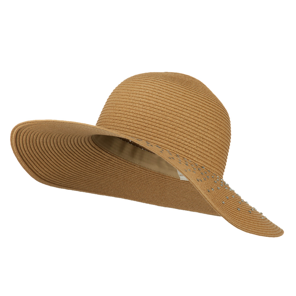 how to clean a paper straw hat