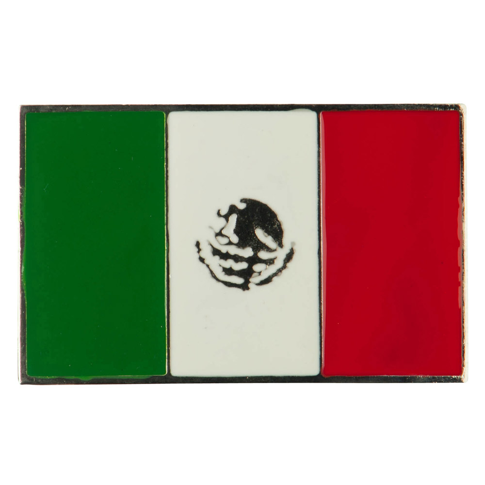 North and South American Belt Buckle - Mexican