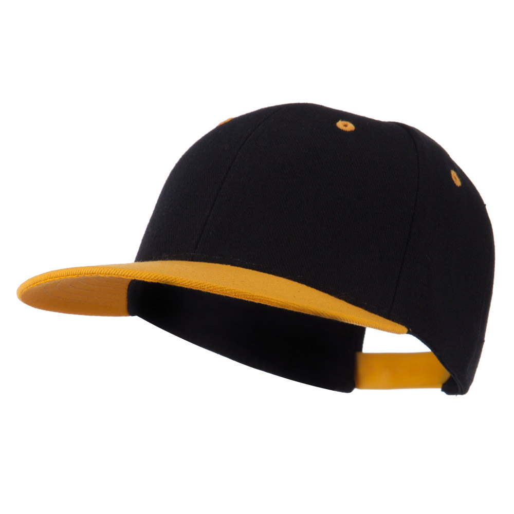 Classic Two Tone Snap Back Cap - Yellow - Hats and Caps Online Shop - Hip Head Gear
