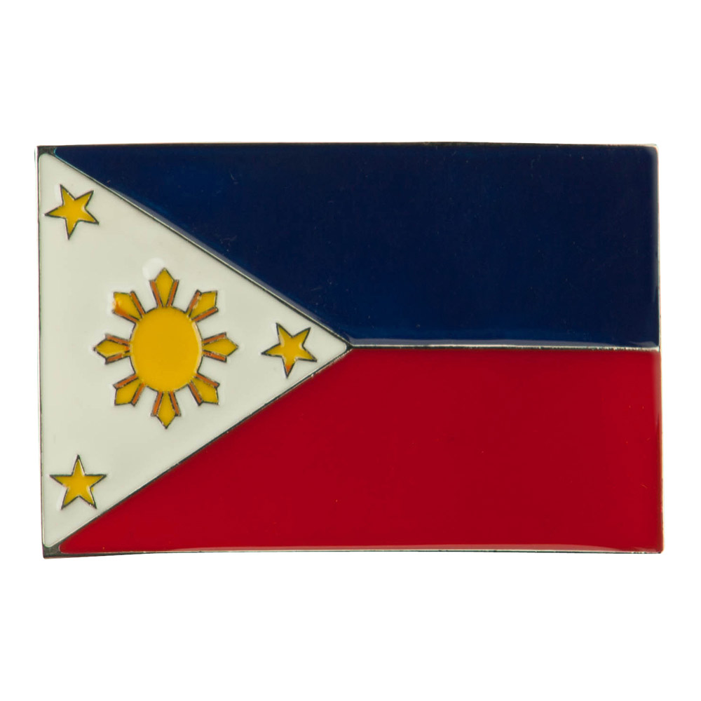 North and South American Belt Buckle - Philippines