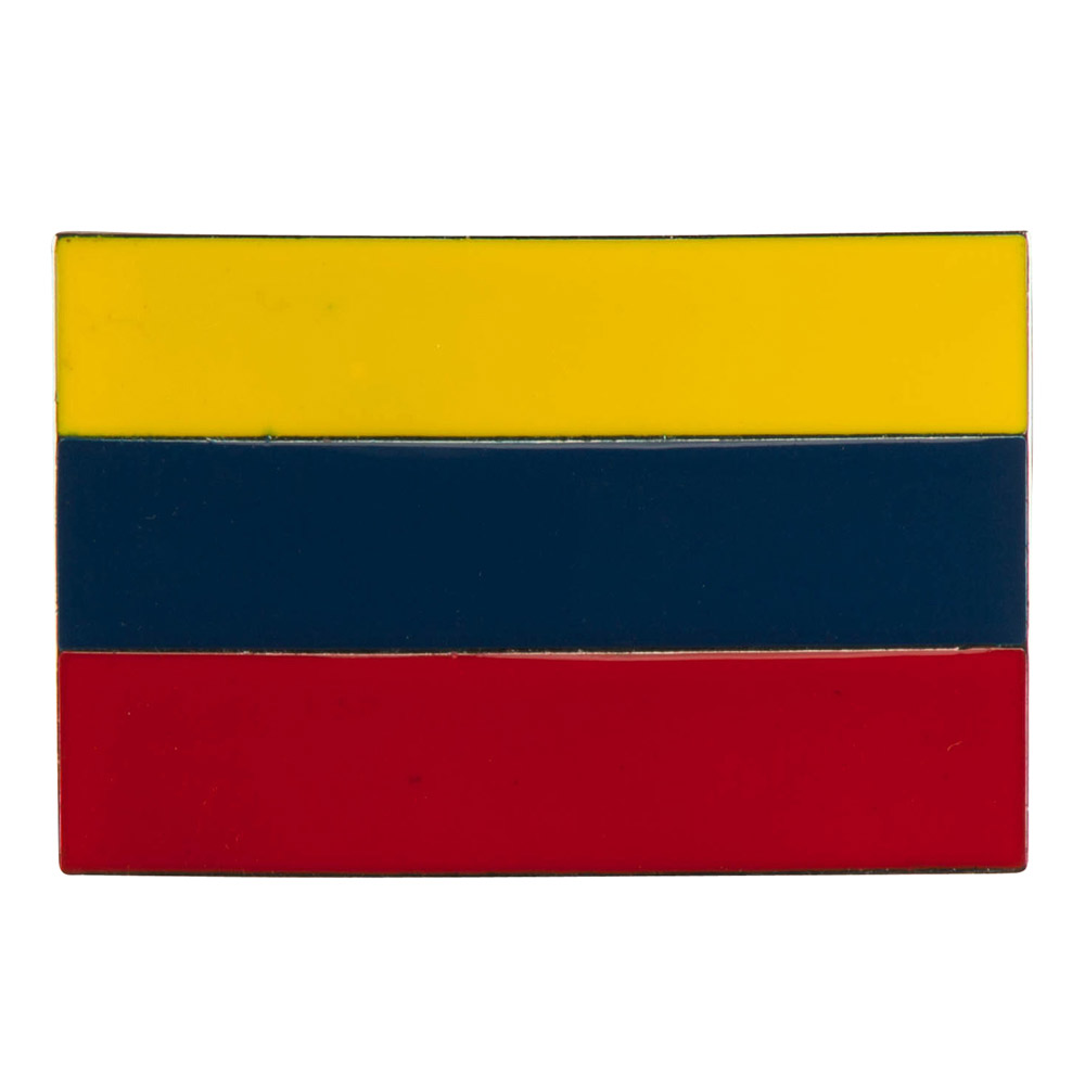 North and South American Belt Buckle - Colombia
