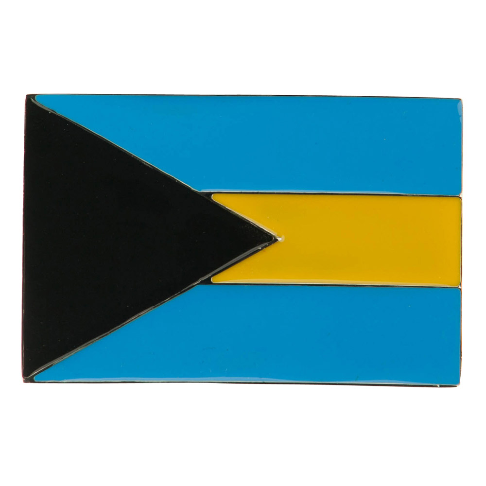 North and South American Belt Buckle - Bahamas