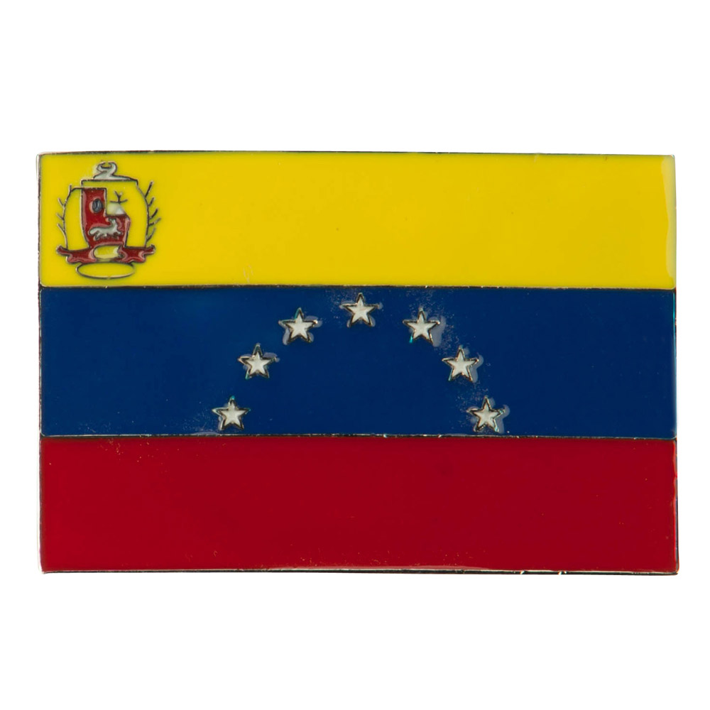 North and South American Belt Buckle - Venezuela