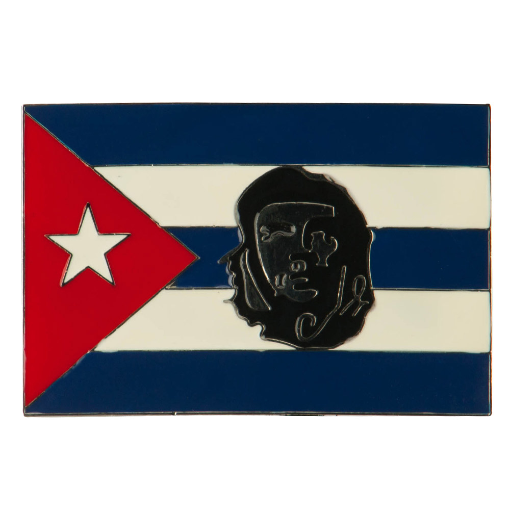 North and South American Belt Buckle - Cuba