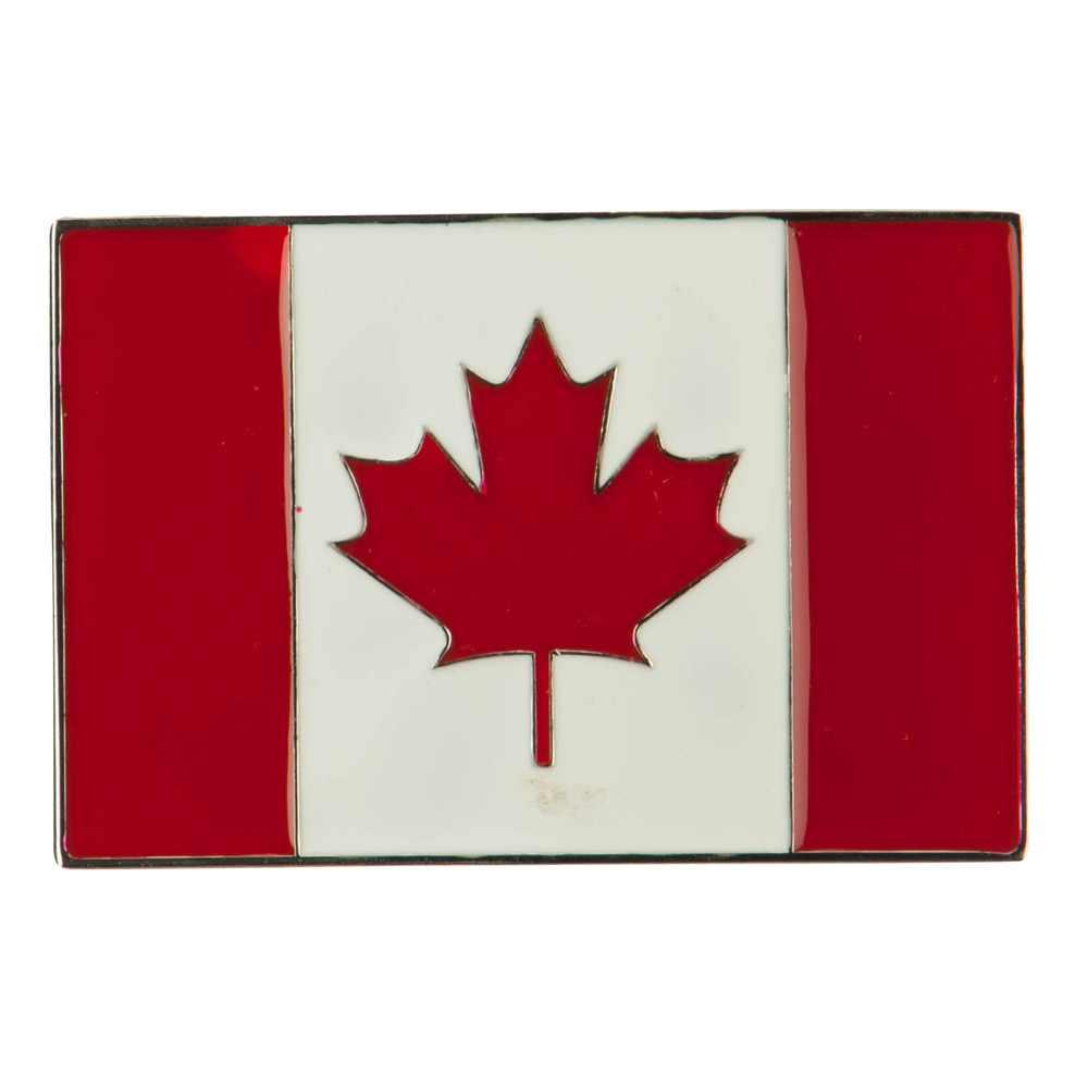 North and South American Belt Buckle - Canada 2
