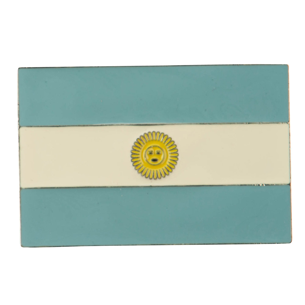 North and South American Belt Buckle - Argentina