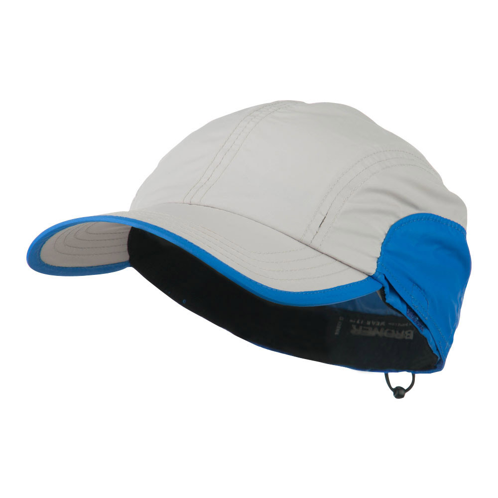 UPF 50+ Sun and Sport Baseball Flap Cap - Stone Blue - Hats and Caps Online Shop - Hip Head Gear