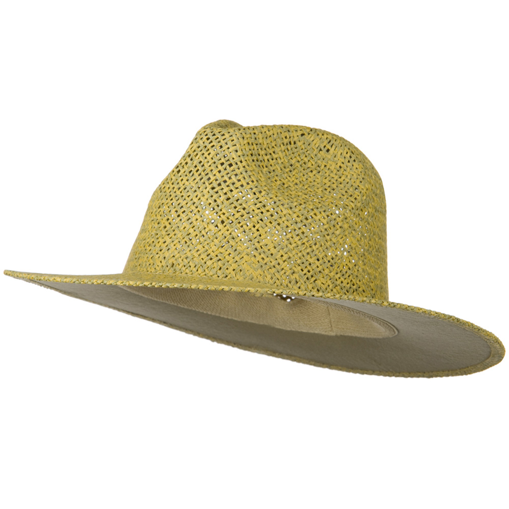 Safari Straw Hats - Natural No Band - Hats and Caps Online Shop - Hip Head Gear