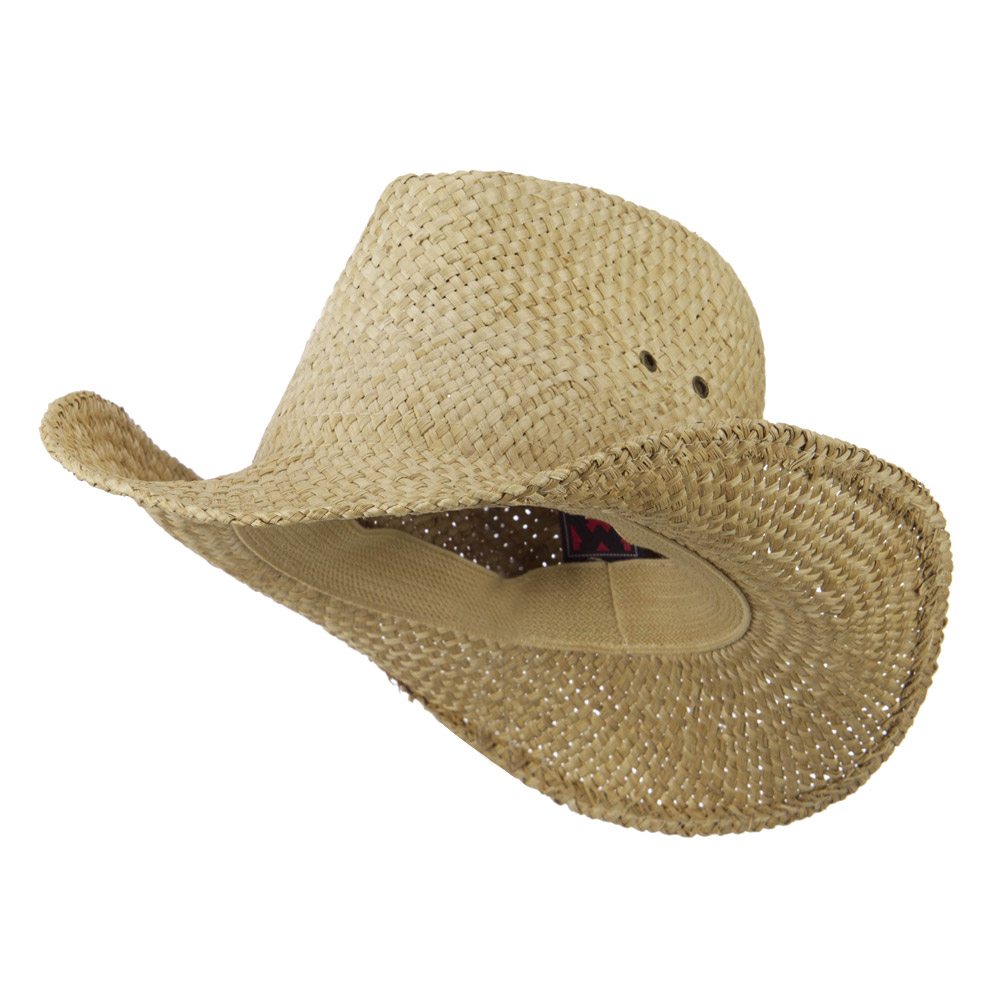 Straw Cowboy Hat - Natural - Hats and Caps Online Shop - Hip Head Gear