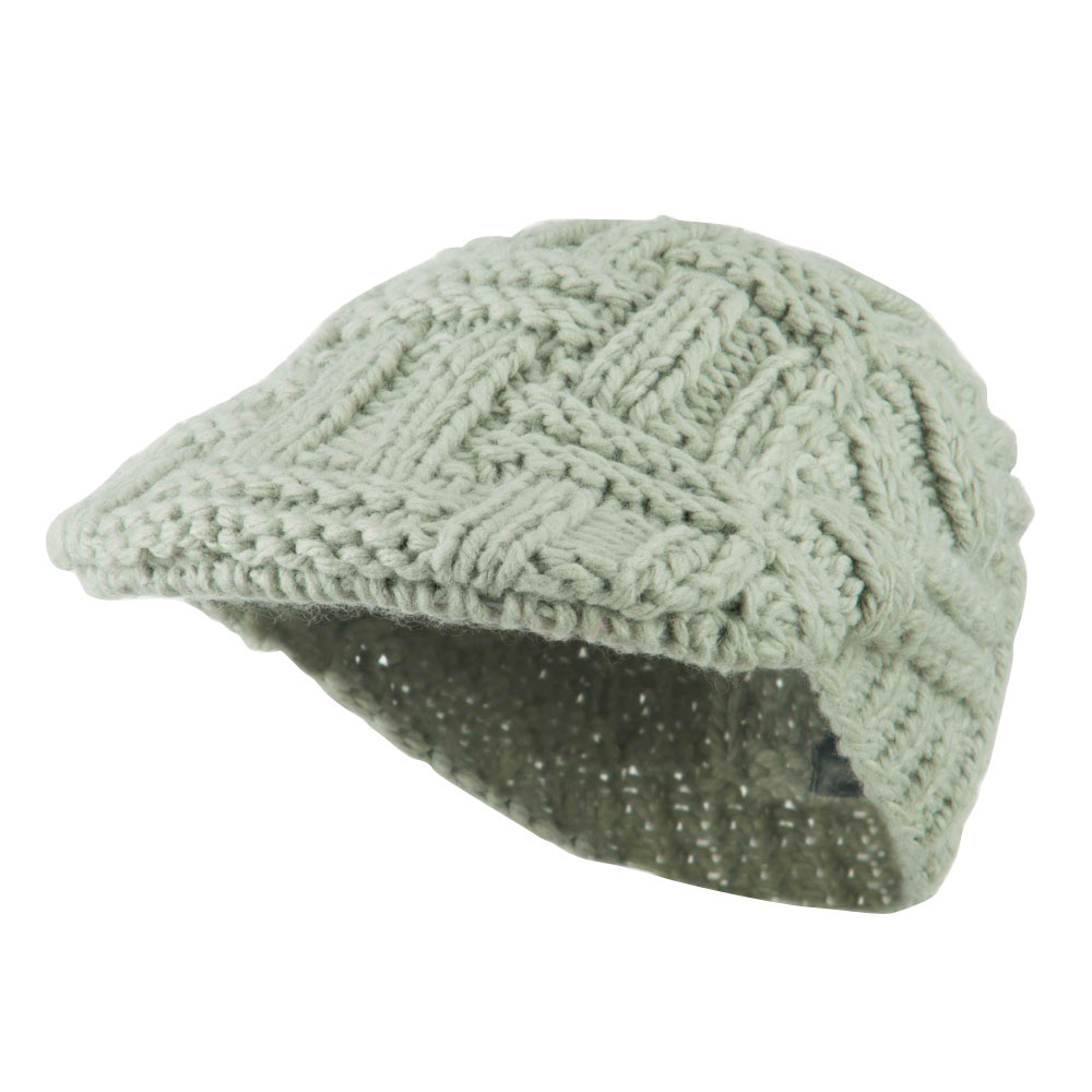 Solid Tangle Knit Ivy - Light Grey - Hats and Caps Online Shop - Hip Head Gear