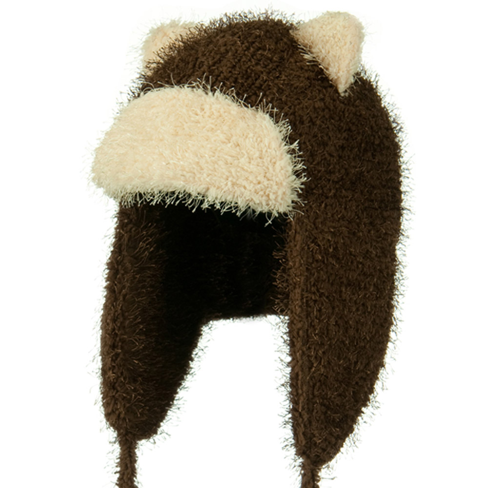 Tweed Trapper Animal Hat - Brown - Hats and Caps Online Shop - Hip Head Gear
