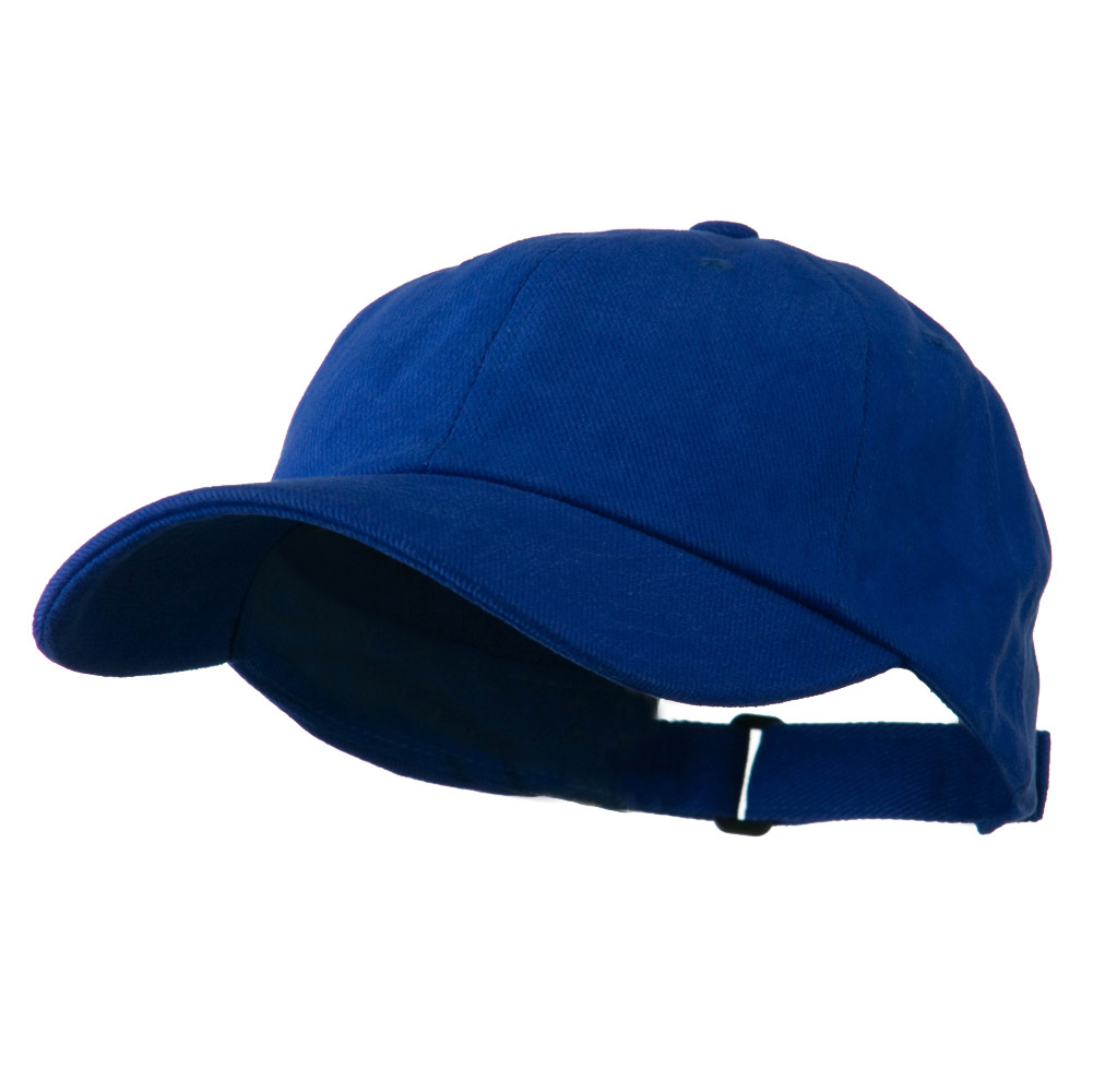 Low Profile Heavy Brushed Cotton Twill Cap - Royal - Hats and Caps Online Shop - Hip Head Gear