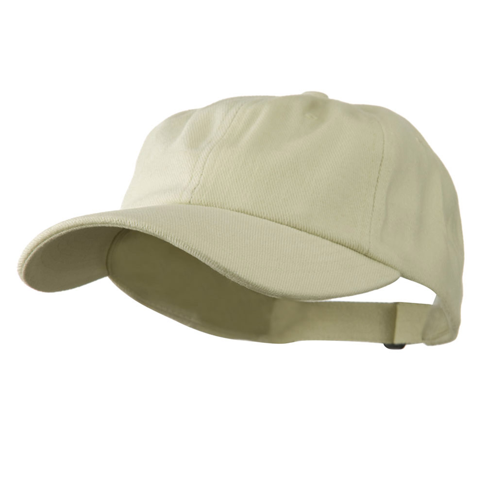 Low Profile Heavy Brushed Cotton Twill Cap - Natural - Hats and Caps Online Shop - Hip Head Gear