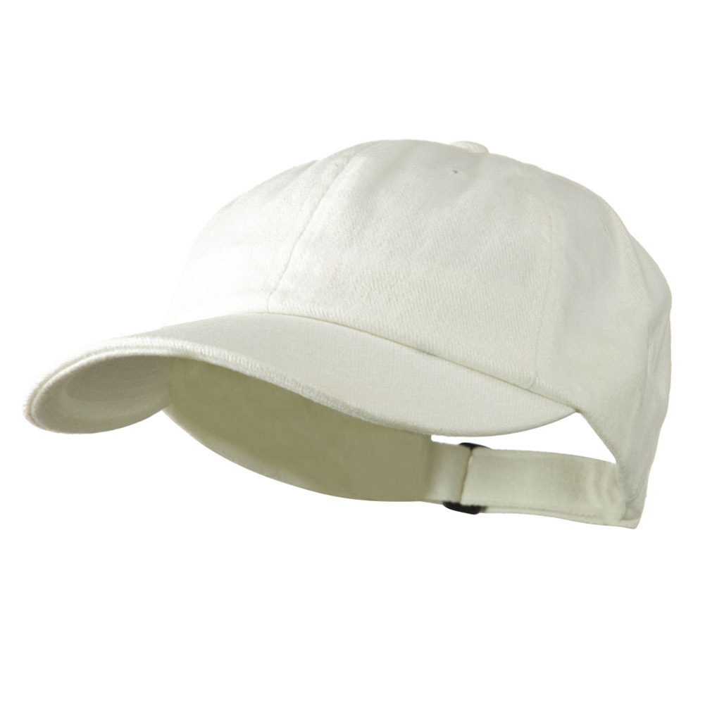 Low Profile Heavy Brushed Cotton Twill Cap - Beige - Hats and Caps Online Shop - Hip Head Gear