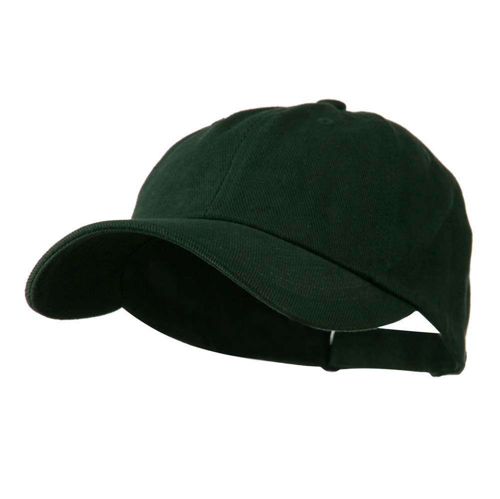 Low Profile Heavy Brushed Cotton Twill Cap - Dark Green - Hats and Caps Online Shop - Hip Head Gear