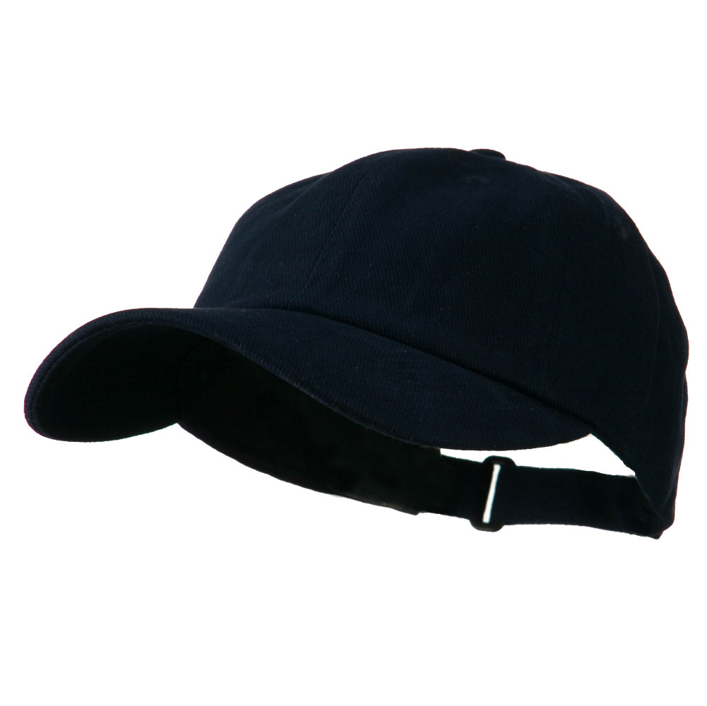 Low Profile Heavy Brushed Cotton Twill Cap - Navy - Hats and Caps Online Shop - Hip Head Gear