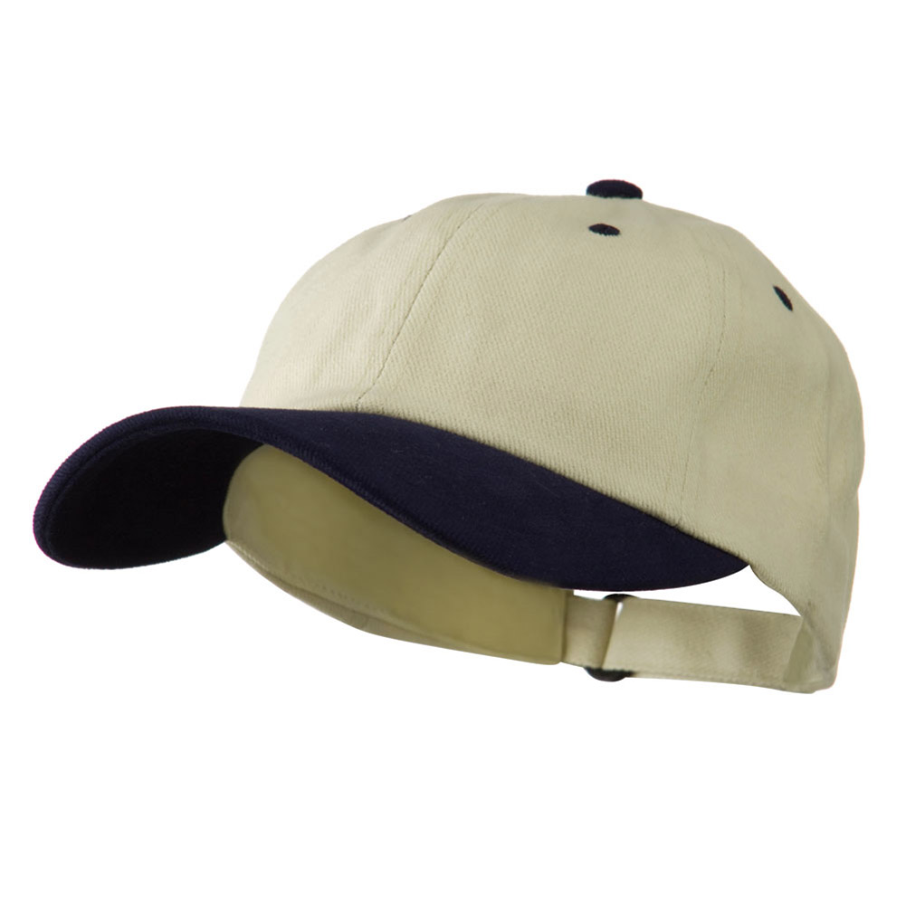 Low Profile Heavy Brushed Cotton Twill Cap - Natural Black - Hats and Caps Online Shop - Hip Head Gear
