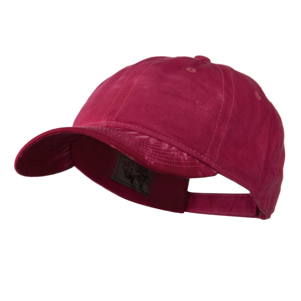6 Panel Tie Dye Cap - Pink - Hats and Caps Online Shop - Hip Head Gear