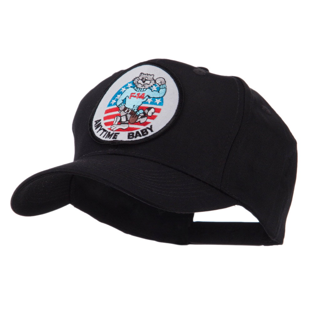 Air Force Tomcat Embroidered Military Patch Cap - Anytime - Hats and Caps Online Shop - Hip Head Gear