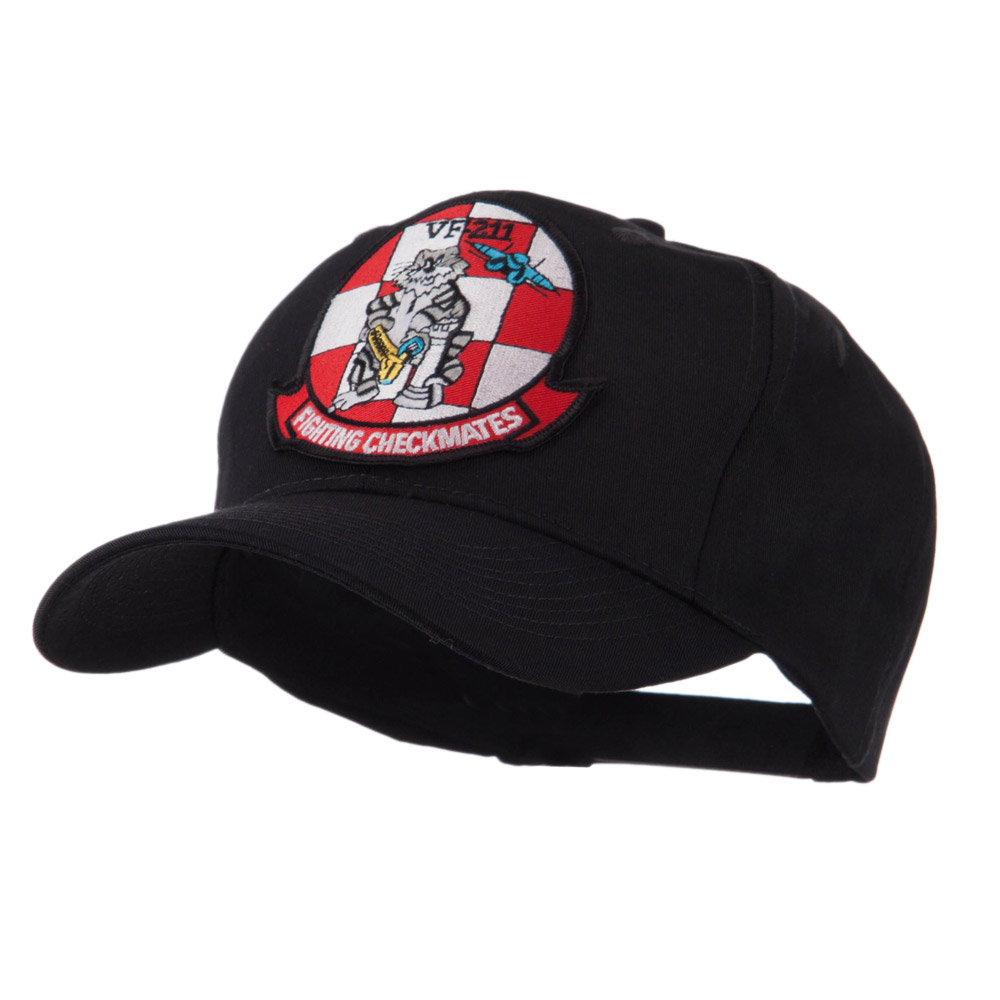 Air Force Tomcat Embroidered Military Patch Cap - VF 211 - Hats and Caps Online Shop - Hip Head Gear