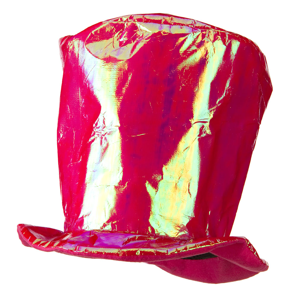 Iridescent Tall Hat - Pink - Hats and Caps Online Shop - Hip Head Gear
