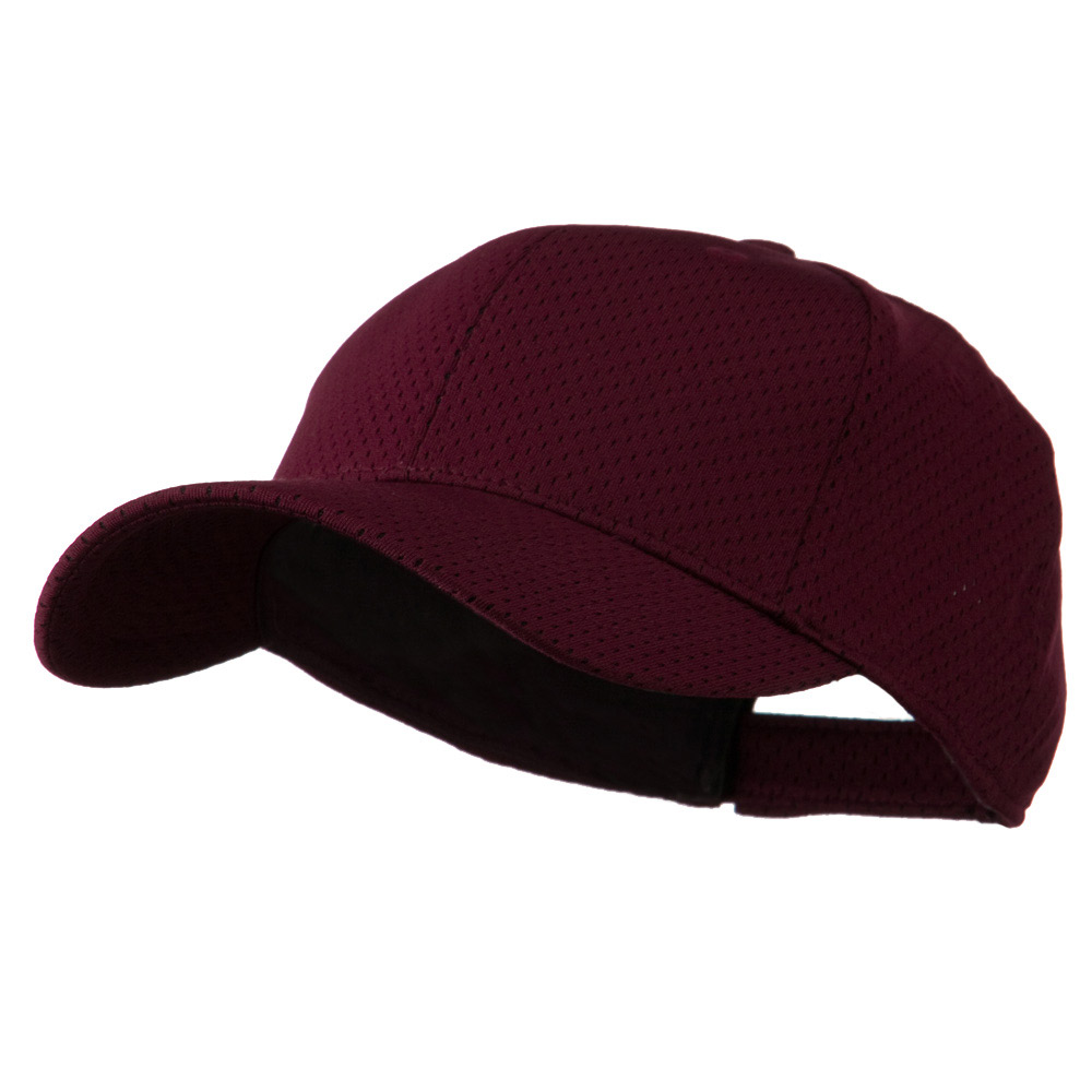 Athletic Mesh Cap - Maroon - Hats and Caps Online Shop - Hip Head Gear
