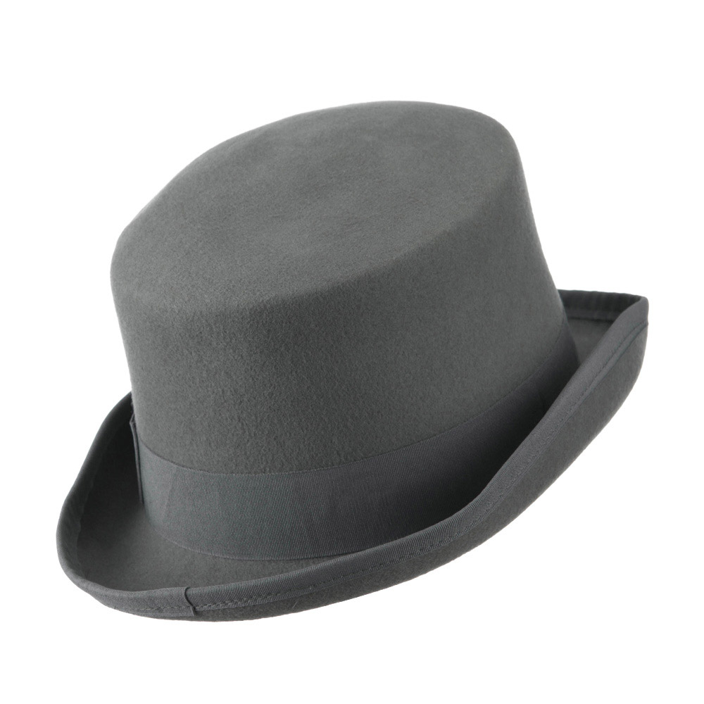 Classic Top Hat - Grey - Hats and Caps Online Shop - Hip Head Gear
