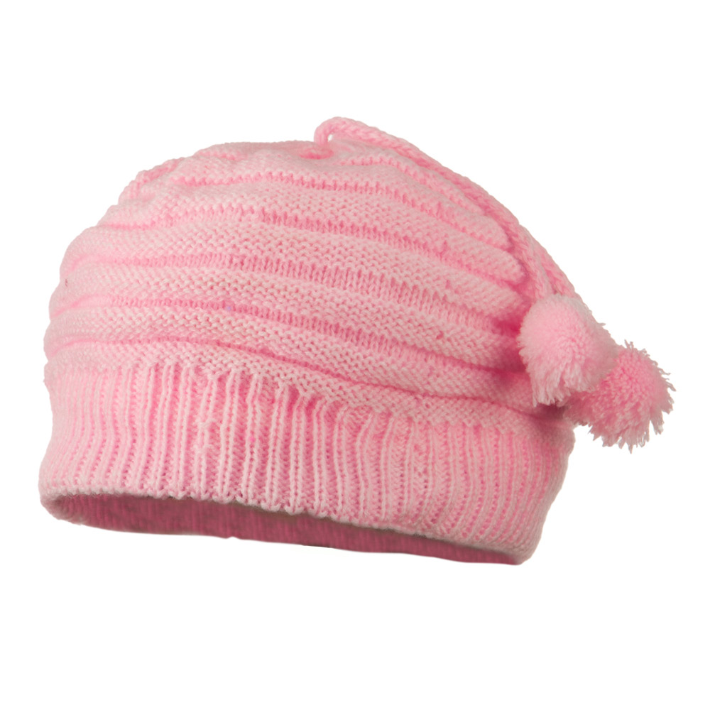 Tassel Knit Hat for Infant - Pink - Hats and Caps Online Shop - Hip Head Gear