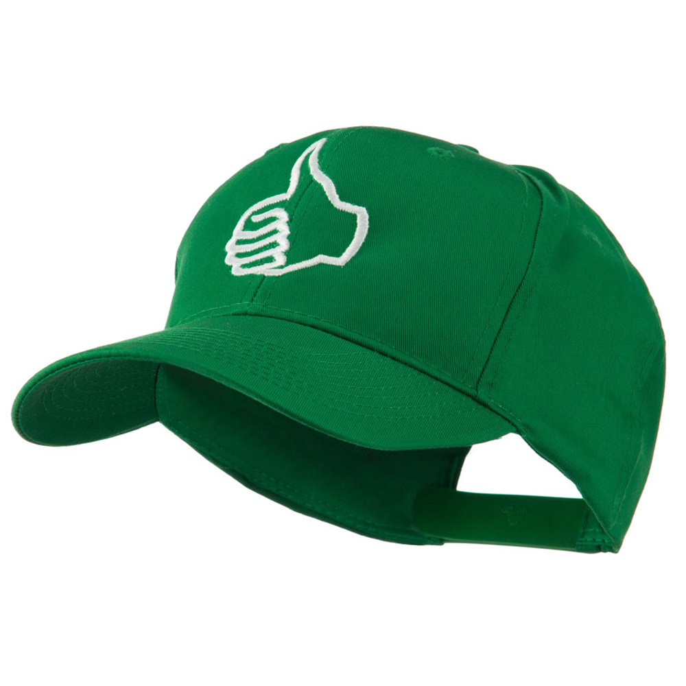 Facebook Thumbs Up Embroidered Cap - Kelly - Hats and Caps Online Shop - Hip Head Gear