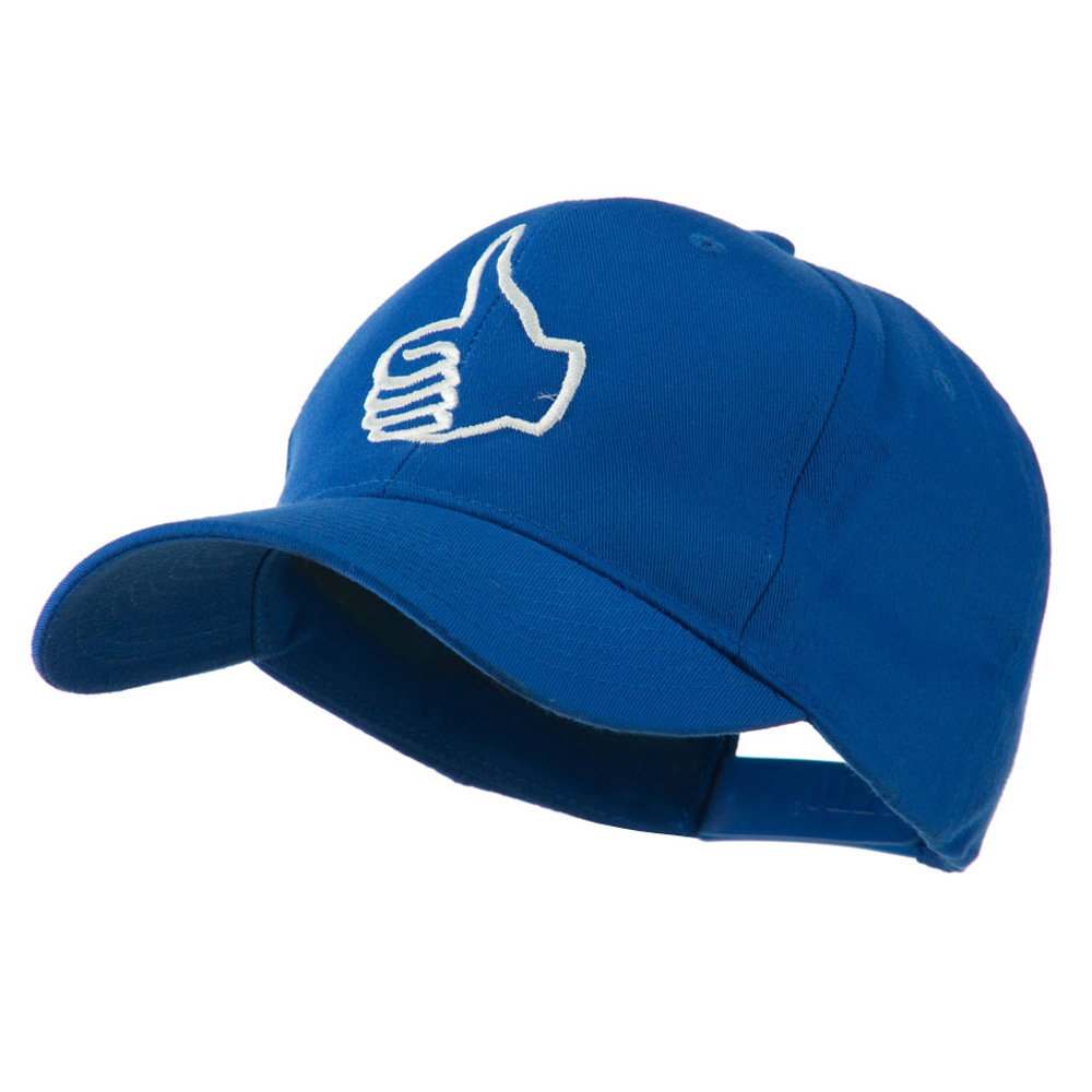 Facebook Thumbs Up Embroidered Cap - Royal - Hats and Caps Online Shop - Hip Head Gear