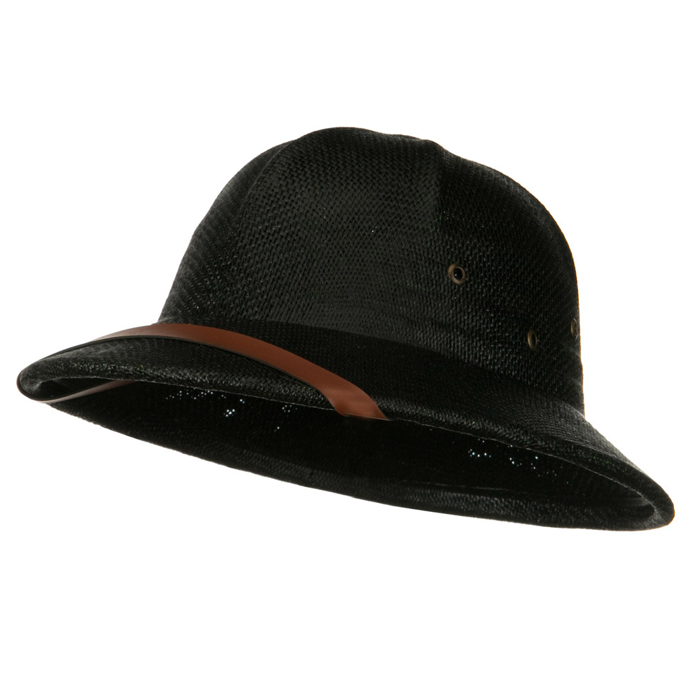 Twist Toyo Pith Helmet - Black - Hats and Caps Online Shop - Hip Head Gear