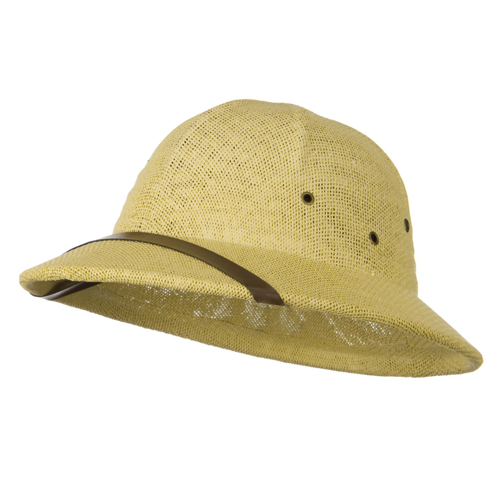 Twist Toyo Pith Helmet - Natural - Hats and Caps Online Shop - Hip Head Gear