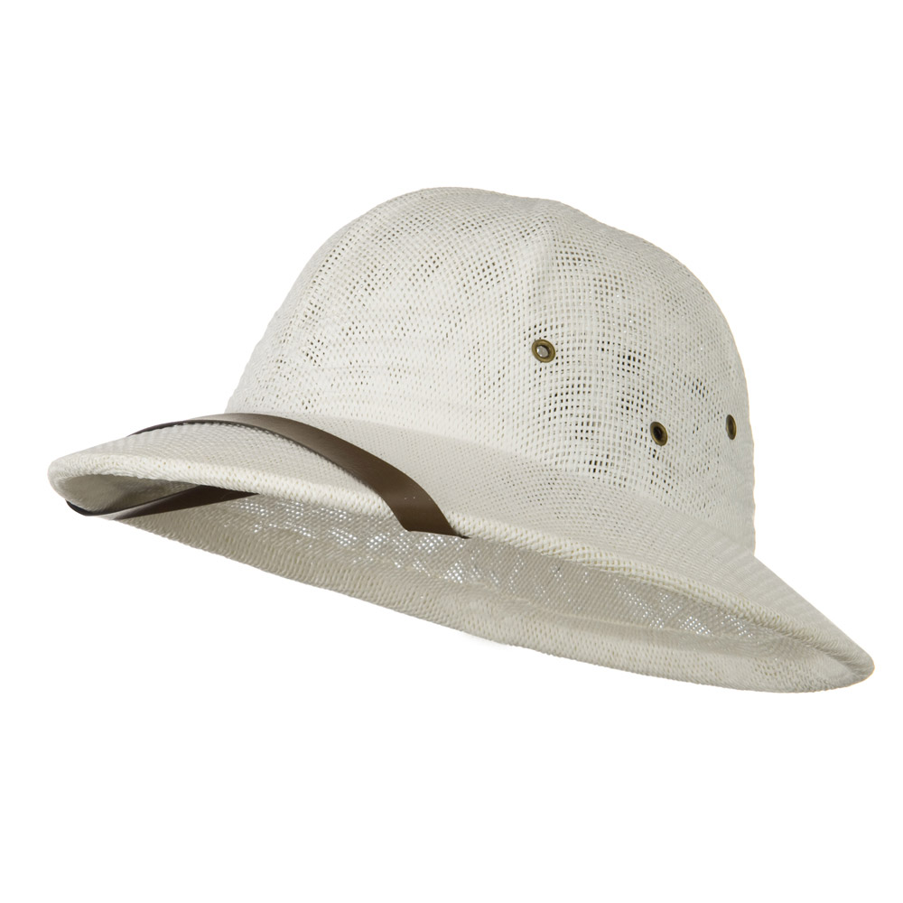 Twist Toyo Pith Helmet - Ivory - Hats and Caps Online Shop - Hip Head Gear
