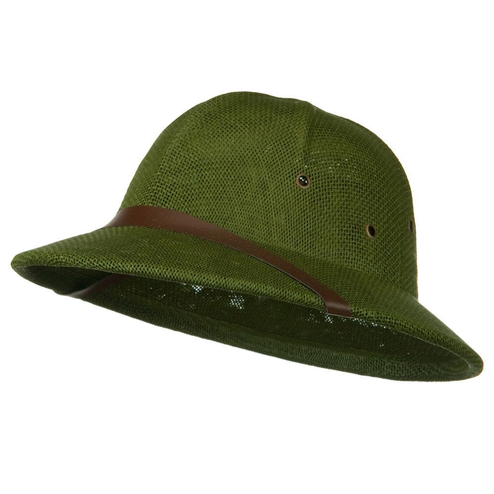 Twist Toyo Pith Helmet - Olive - Hats and Caps Online Shop - Hip Head Gear