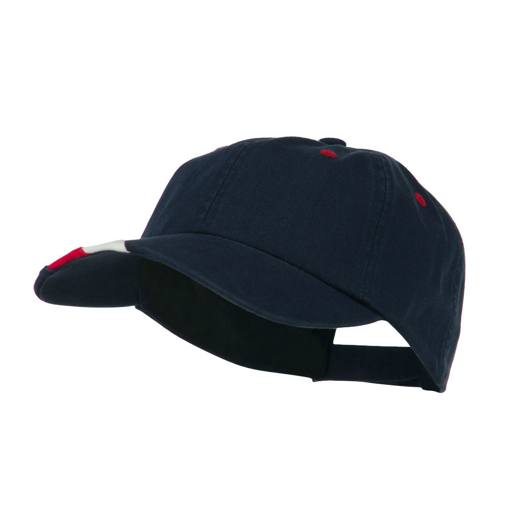 Low Profile Brushed Cotton Cap - Navy - Hats and Caps Online Shop - Hip Head Gear