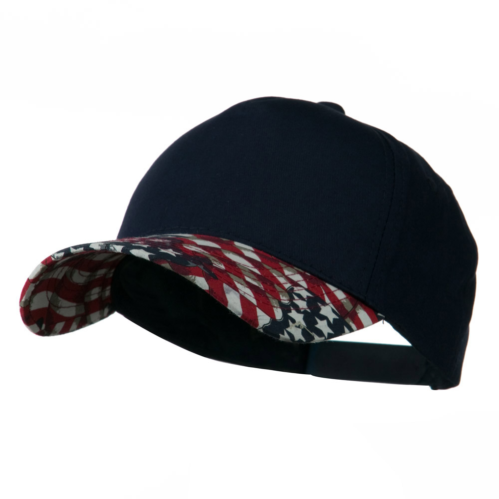 5 Panel Cotton Twill Stars Cap - Navy - Hats and Caps Online Shop - Hip Head Gear