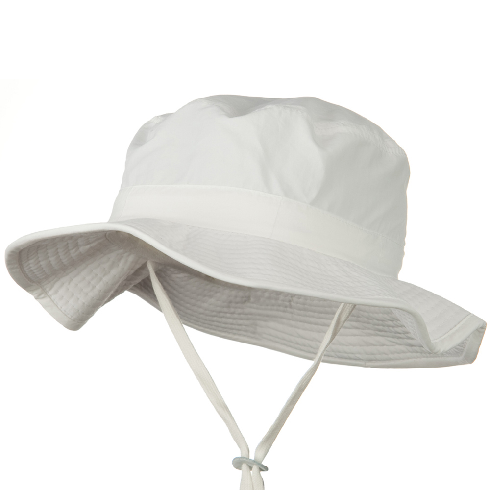 Out in the Wild Bucket Hat - White - Hats and Caps Online Shop - Hip Head Gear