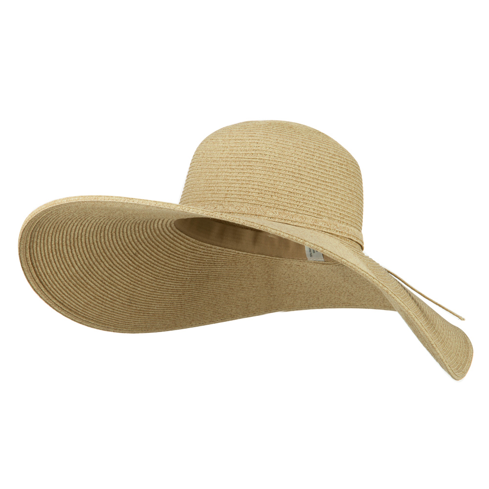 UPF 50+ Wheat Paper Straw Wide Brim Hat  - Natural - Hats and Caps Online Shop - Hip Head Gear