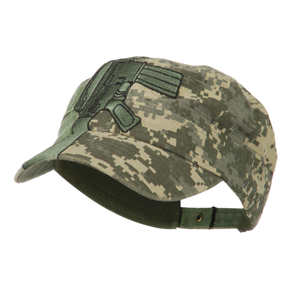 USMC Flat Top Military Jeep Style Adjustable Cap - Digital - Hats and Caps Online Shop - Hip Head Gear