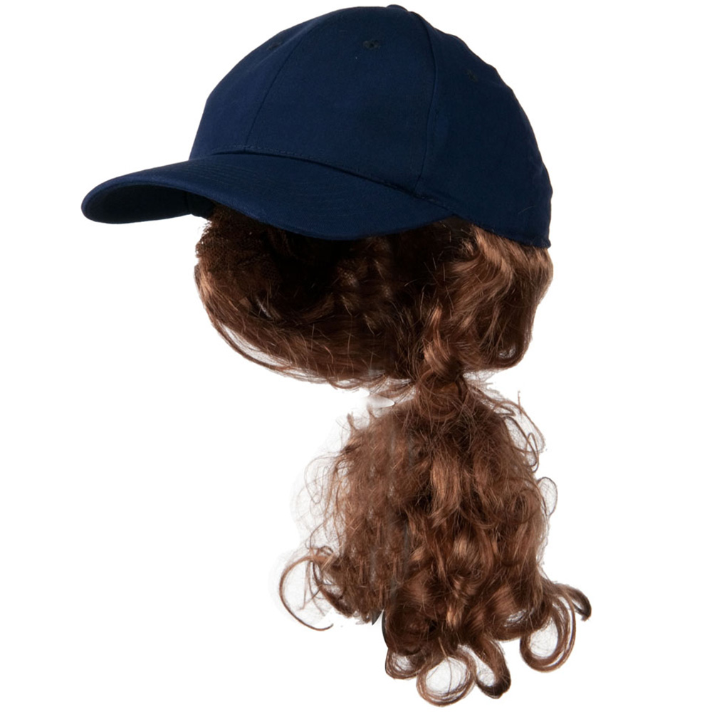 Auburn Pony Tail Twill Cap - Navy - Hats and Caps Online Shop - Hip Head Gear
