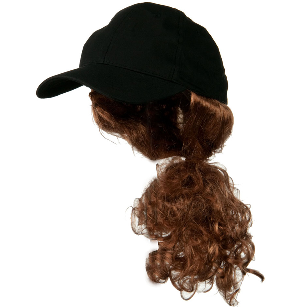 Auburn Pony Tail Twill Cap - Black - Hats and Caps Online Shop - Hip Head Gear